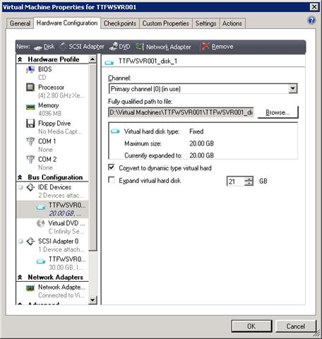 Using VMM To Convert VHD Types | Aidan Finn, IT Pro
