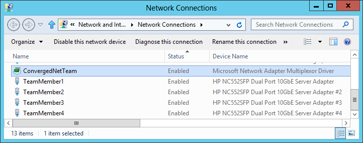 Windows Server 2012 NIC Teaming Part 2 – What's What