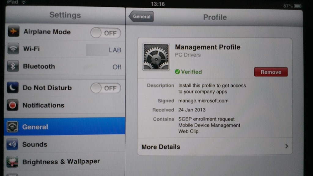 Managing Apple iOS Devices From Windows Intune | Aidan Finn