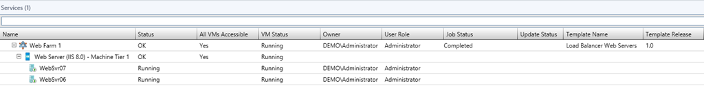 Deploying Load Balanced Servers Using VMM 2012 SP1 (And