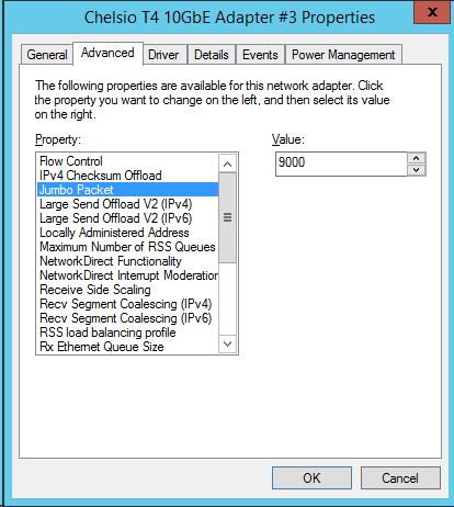 Configuring Jumbo Frames in WS2012 R2 Hyper-V VMs | Aidan Finn, IT Pro