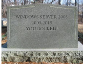 Windows Server 2003 W2003 EOL Tombstone