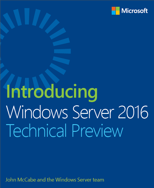 Windows Server & System Center TP5 Downloads