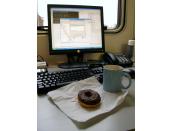 Coffee Doughnut Monitor Programmer