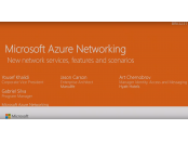 Ignite 2016 Azure New Networking Features