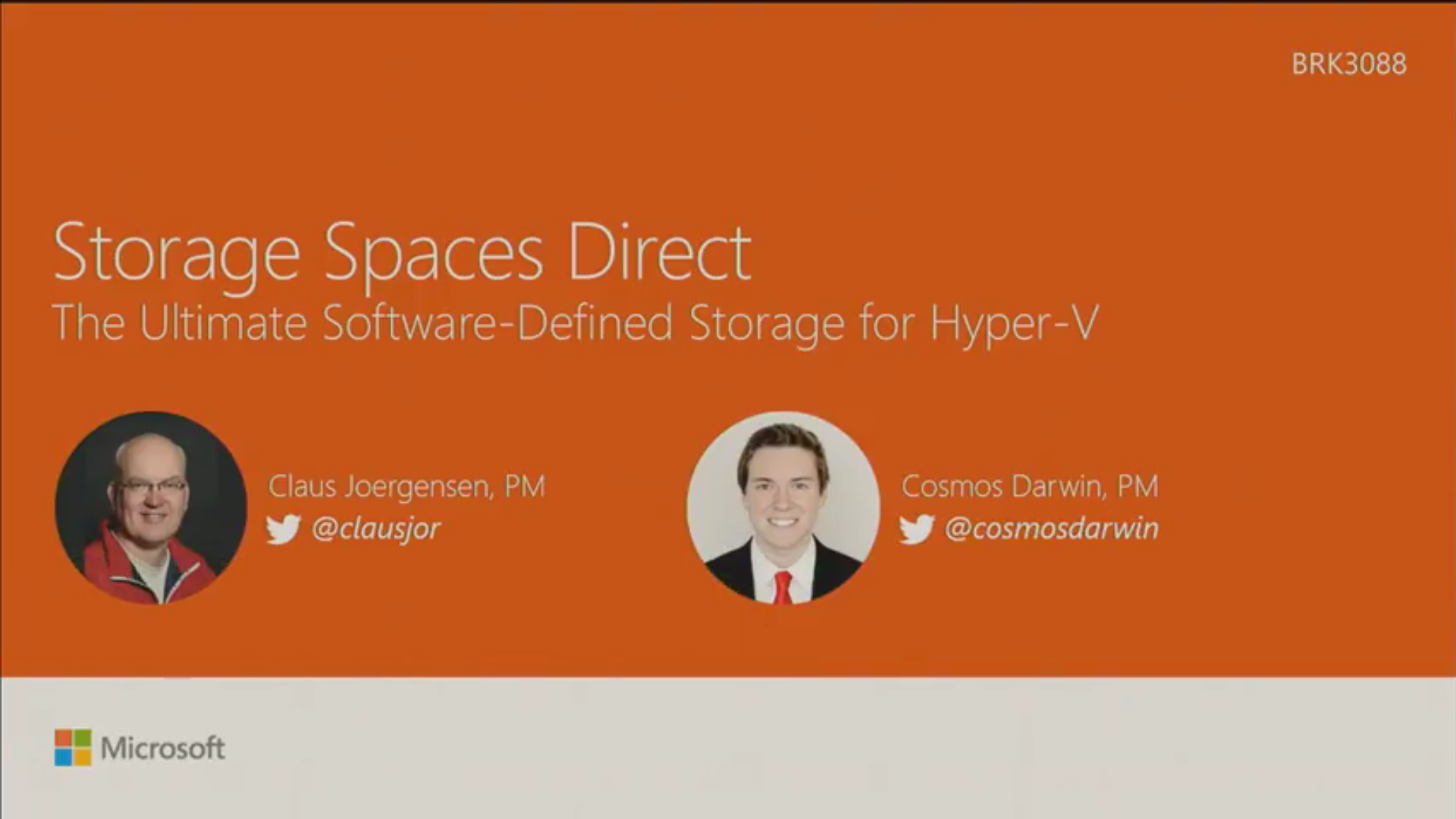 Ignite 2016 – Storage Spaces Direct | Aidan Finn, IT Pro