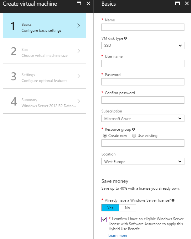 Azure Hybrid Use Benefit – Not As Beneficial As You Might