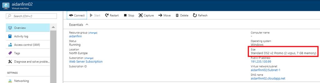 Azure VM Sizes Missing When Resizing   Aidan Finn, IT Pro