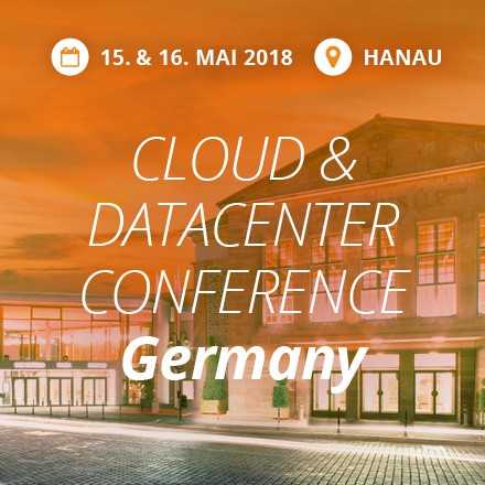 Speaking at Cloud & Datacenter Conference Germany in May